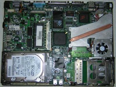 Компонентный и модульный ремонт ноутбуков. Обзор комплектующих и их неисправностей