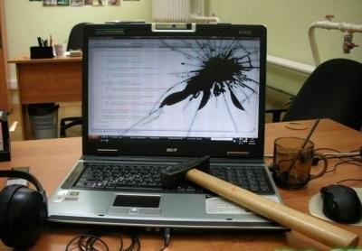 Как «сломать» ноутбук?